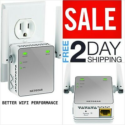 Wireless WiFi Internet Range Extender Network Increase Signal Booster Router NEW