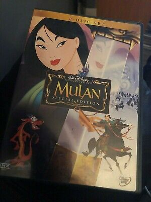 Mulan (DVD, 2004, 2-Disc Set, Special Edition)Great Used Shape