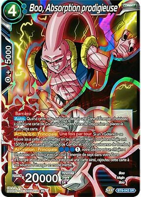 Boo Absorption prodigieuse BT6-042 SR//VF Dragon Ball Super Card Game