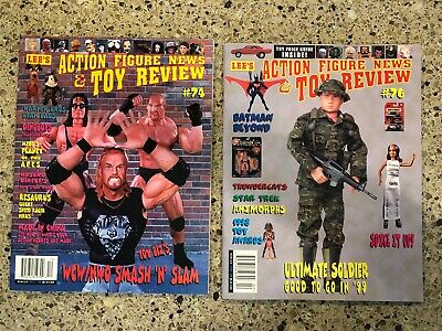 Lee's Action Figure News & Toy Review #74 #76 WCW NWO POTA Ultimate Soldier