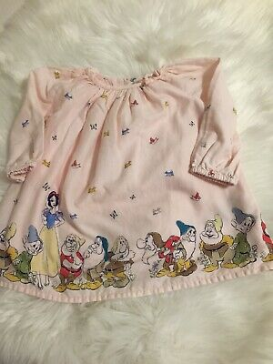 5a2554ac4 3-6 Month Dress Baby Gap Disney Pink Snow White And The Seven Dwarfs