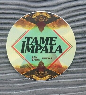 Tame Impala Decal  Sticker 3in matte