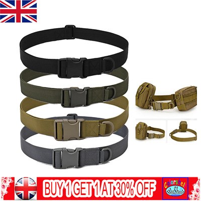 Army Heavy Duty Military Combat Tactical Belt Quick Release Waistband Outdoor C