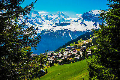 Digital Photo Wallpaper Picture Screensaver Background Alps Mountains Europe