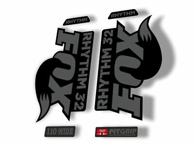 Suspension Factory Decal Kit Sticker Adhesive Set FOX Evolution Talas Forks