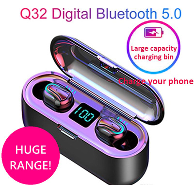 Wireless Bluetooth 5.0 Earphones Headphones Earbuds for Samsung Android iPhone