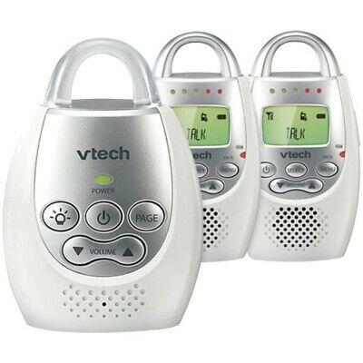 VTech DM221-2 Safe&Sound Digital Audio Baby Monitor with 2 Parent Units