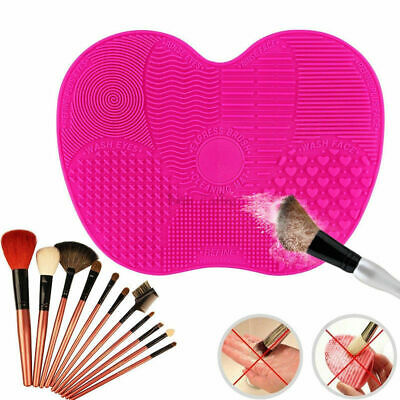 Silicone Makeup Brush Cleaner Pad Cosmetic Washing Scrubber Board Cleaning Mat