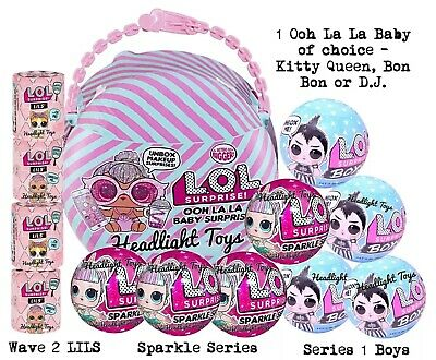 LOL Surprise Series 6 OOH LA BABY Doll Boys Ball LILS Wave 2 Sparkle 1 5 In Hand