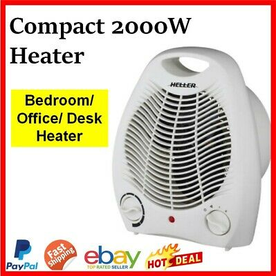 Electric Industrial Fan Heater Workshop Floor Carpet Dryer Hot Air Blower Garage