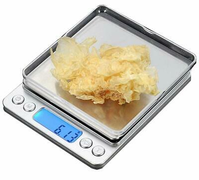 CestMall Stainless Steel Digital Kitchen Scales(500g 0.001oz/0.01g) High