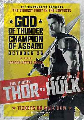 "THOR RAGNAROK 11""x17"" MOVIE POSTER PRINT #16"