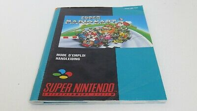 Super Mario Kart - SNES manual only