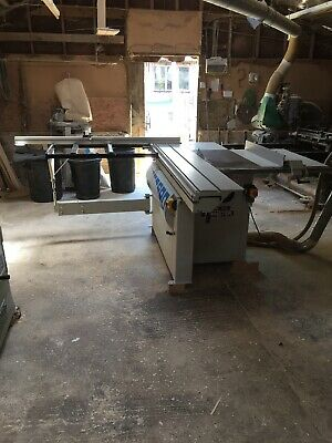 W Master Panel/ Table Saw With Sliding Carriage and Tilting Arbor Single Phase