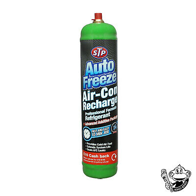 Stp Auto Freeze Car Air Con Air Conditioning Top Up Refill Recharge Regas Ice 32