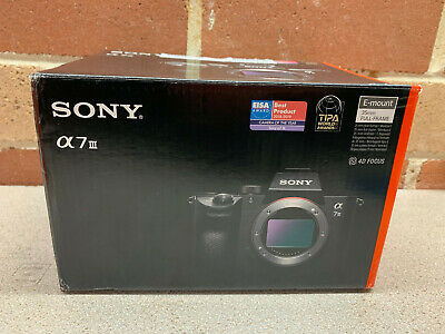SONY ILCE-7M3 A7 III E Mount 35mm FULL FRAME CAMERA  in Box