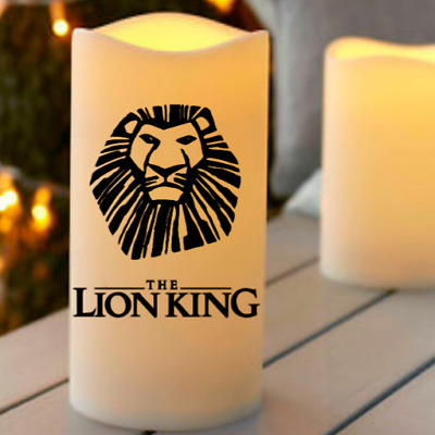 The Lion King 2019 Flameless Led Candle Night Light Film Gift