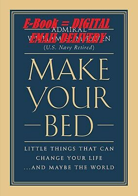 [PDF] Make Your Bed Little Things That Can Change Your Life...And Maybe the W...