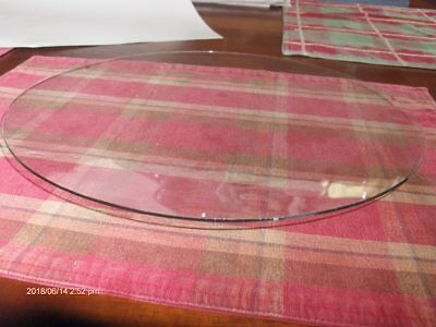 """NEW 11 3/8"""" dia.LARGE CONVEX Clock Glass,Clear Round, for Clock Repair"""