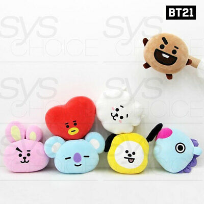 BTS BT21 Official Authentic Goods Mochi Face Cushion 30cm 7Characters