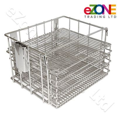 Henny Penny Frying Basket Gas Pressure Fryer Stainless Steel Removable Shelves