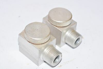Lot of 2, Gits Bros MFG Co, Lubricator, Oil Cup with Site Glass, 5/8 OD, 3/8 ID