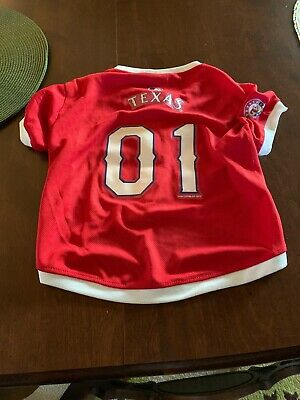 brand new c4f46 4271f texas rangers pet jersey