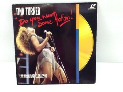 Coleccionismo Dvd Laser Disc Tina Turner Do You Want Some Action 4792039