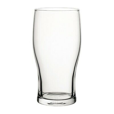 Utopia Tulip Nucleated Toughened Beer Glasses 280ml CE Marked (Set of 48) [GR293