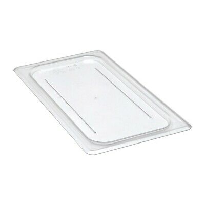 TemoWare 1//2 Size Polycarbonate Gastronorm Container Lid Clear