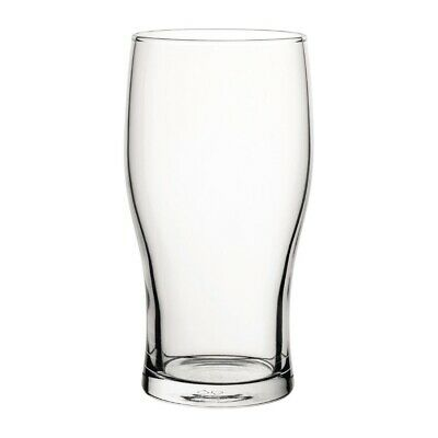 Utopia Tulip Nucleated Toughened Beer Glasses 570ml CE Marked (Set of 48) [GR294