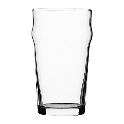 Utopia Nonic Beer Glasses 570ml CE Marked (Set of 48) [DB554]
