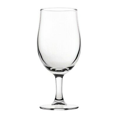 Utopia Nucleated Toughened Draught Beer Glasses 280ml CE Marked (Set of 12) [CY3