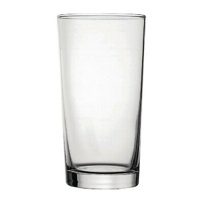 Utopia Toughened Conical Beer Glasses 560ml CE Marked (Set of 48) [DY266]