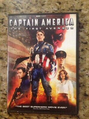 Captain America: The First Avenger (DVD, 2011) Authentic US Release
