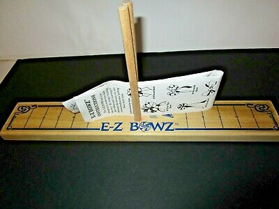 Vintage Wooden E•Z Bow Maker With Instructions