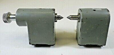 Kodak Optical Comparator Center Stage Fixture Set 2.5 in Base to Center