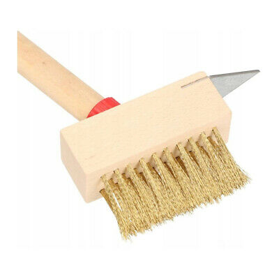 Patio Wire Brush Cleaning Block Paving Weed Scraper Brush Garden Optional Handle