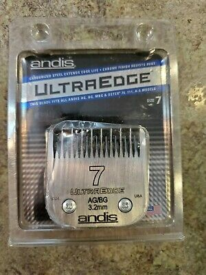 ANDIS Ultra Edge Size 7 3.2mm New Old Stock