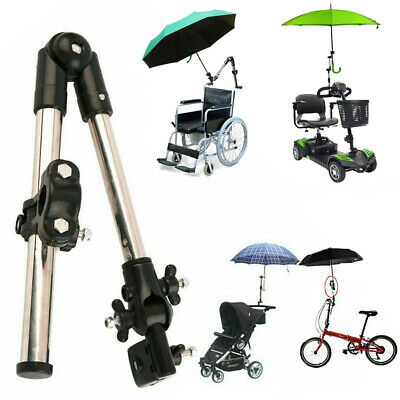Umbrella Attachment Clamp Supporterr Holder Pipe Bar Motor Wheelchair Scooter AU