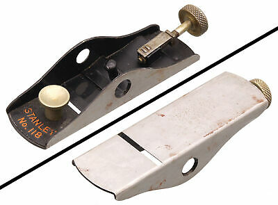 Orig. Forged Iron Body for Stanley No. 118 Low Angle Block Plane - mjdtoolparts