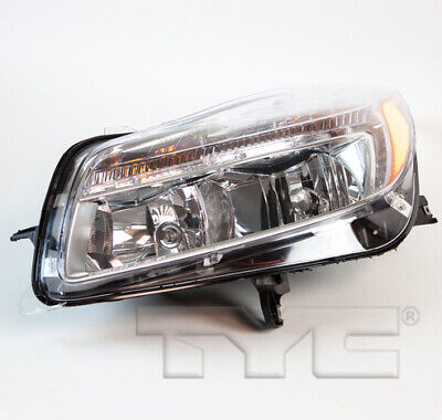 TYC Left Driver Side Halogen Headlight for Buick Regal 2011-2013 Models
