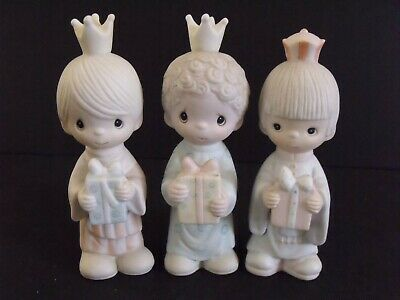 """Precious Moments, """"Wee Three Kings"""" - #E-5635- New In Box"""