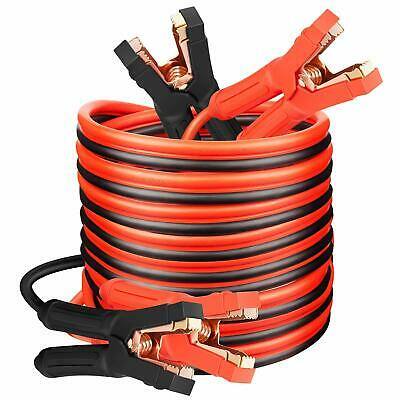 15 Foot 1//0 AWG 0 Gauge Heavy Duty Jumper Cables Booster Set by Spartan Power