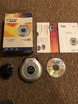 VICTOR READER VIBE PORTABLE CD PLAYER, Audio DAISY, & DIGITAL MP3-CD In Box