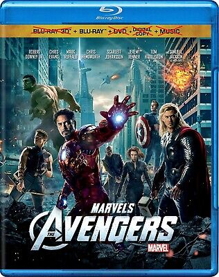 The Avengers - Marvel / Disney (Blu-ray, 2012) NO 3D, DVD, MUSIC or DIGITAL