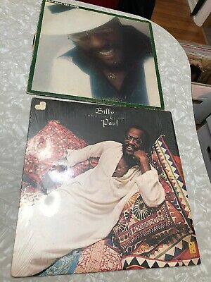 Lot Of 2 Billy Paul Funk R&B Soul LP Record Let Em In When Love Is New
