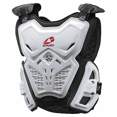 EVS F2 Roost Deflector Size Md White F2-W-M