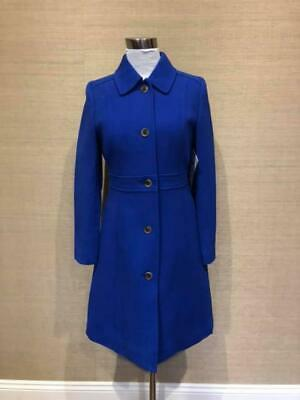 70e8e5a20 JCREW $378 PETITE Double-Cloth wool Lady Day Coat with Thinsulate 8P ...