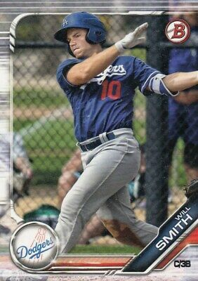 Lot of (25) 2019 Bowman WILL SMITH Rookie Card LOT #BP-91 Dodgers QTY Avail